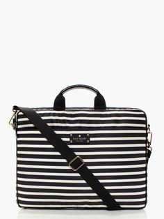 e12e694ebde9 kate spade nylon stripe chad My Style Bags