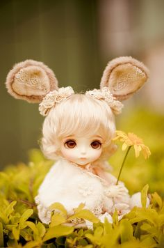 My little bunny ♥ by débear~♪ on Flickr.
