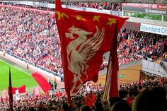 Spion Kop at Anfield, Liverpool - The Home of Football