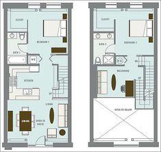 Двух этажный дом из контейнеров проект 11