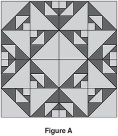 Blacks & Whites free quilt block of the month
