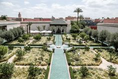 Trip to Marrakech and its riad garden renovated