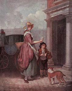 Do you want any matches? Francis Wheatley (1747-1801) Cries of London series