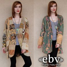 Vintage 90s does 70s Patchwork Hippie Boho Oversized by shopEBV, $78.00
