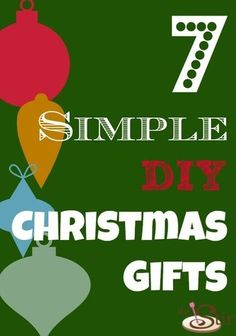 Only 2 days before Christmas! Gahhh!!! 7 Easy Last-Minute Homemade Christmas Gifts (PHOTOS) http://thestir.cafemom.com/home_garden/165887/7_easy_lastminute_homemade_christmas?utm_medium=sm&utm_source=pinterest&utm_content=thestir