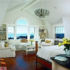 Master suite by the sea