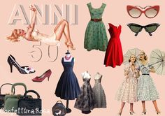 50's Fashion @Evelyn Siqueira galarza....this would be your clothing :) ....