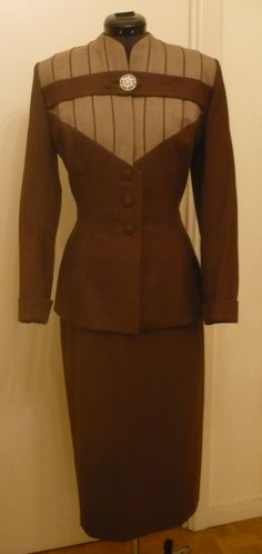 Fabulous Vintage LILLI ANN Suit  1940 1950 Jacket by FeverVintage, €329.00