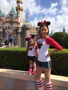 Disney! Mother daughter trip! Matching! Minnie Mouse! OrchardStreetPress apparel ! Great deal