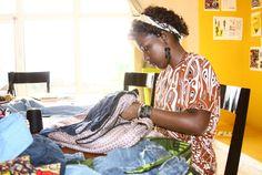 Recycling for Rwanda  http://www.africafashionguide.com/2012/07/germaines-bags-recycling-for-rwanda-designer-profile/