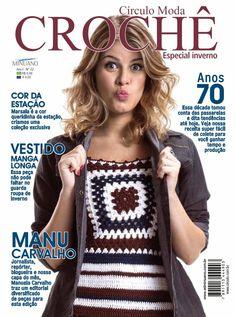 Artesanato com amor...by Lu Guimarães: LANÇAMENTO: Revista Moda Crochê nº 2
