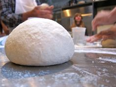This is the recipe for the dough I made at the Brooklyn Kitchen's at-home pizzamaking class with Anthony Falco and Angelo Womack.