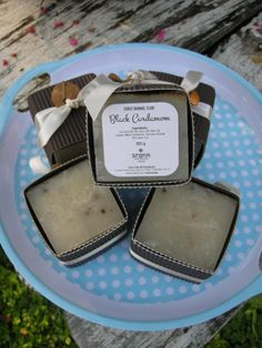 CUBIC HERBAL SOAP made with rainwater and by CIAOCIAOatChiangmai, $10.00