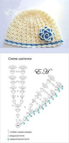 - Diversamente Crochet By MaryRose Crochet Kids Hats, Baby Girl Crochet, Baby Hats Knitting, Crochet Baby Clothes, Knitted Hats, Bonnet Crochet, Knit Or Crochet, Crochet Stitches, Crochet Hooded Scarf