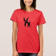 Strange creature T-Shirt Strange creature with his red evil eyes