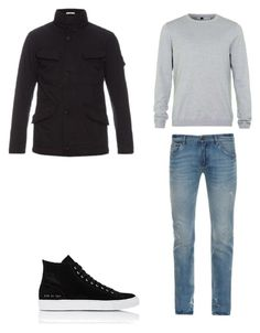 """""""8"""" by nycmoo on Polyvore featuring Dolce&Gabbana, Topman, STONE ISLAND, Common Projects, men's fashion и menswear"""