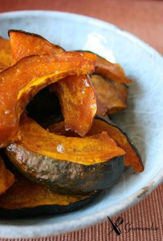 Gourmandise Abóbora kabotchá assada e caramelizada