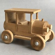 This Car is Pre-Loved. We will happily leave it for you. Avoid using abbreviations and acronyms whenever possible. Vintage Models, Old Models, Revell Model Kits, Wooden Toy Cars, Wood Toys Plans, Model Cars Kits, Handmade Wooden, Vintage Wood, Inventions