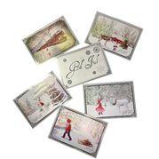 JULEDUGNAD. Flotte postkort til jul. Selges på dugnad. Tjen penger til skoletur, russetid eller til idrettslaget.