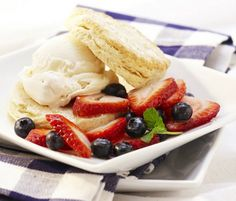 A perfect recipe to make for your friends and family: Mixed berry shortcakes.