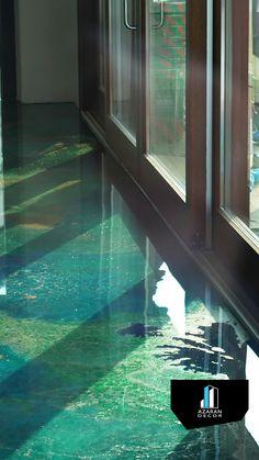 Epoxy Boden Epoxy resin - Gobbetto Dega Art by Mino Longo The Home Warranty Doctor Is I Unique Flooring, Diy Flooring, Laminate Flooring, Flooring Ideas, Epoxy Resin Flooring, Concrete Floors, Terrazzo, Basement Flooring Options, Metallic Epoxy Floor