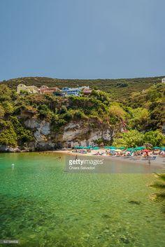 'Piscine naturali' in Ponza island | Ponza Island, Italy | #stockphotos #gettyimages #print #travel