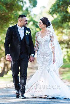 mermaid lace wedding dresses by steven khalil 3