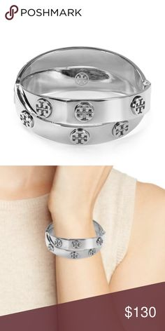 34041be11 Shop Women's Tory Burch Silver size OS Bracelets at a discounted price at  Poshmark.