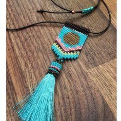Sunrise pendant is finally renewed! Soon available in #sousouhandmadeart #etsyshop. Stay tuned! more colors to come www.sousouhandmadeart.com  {linkinbio}  . . . . . #finebeadwork #bestqualitybeads #handcraftedingreece #seedbeadpendant #sunrisependant #springjewelry #beadedtassel #theartofmaking #lovebeading #lovehandmadejewelry #perlesandco #womenwithstyle