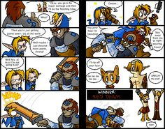 Fellow brawlers, don't EVER team Link and Ganondorf together. Nobody will win if you do!