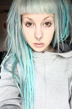 Officially the coolest dreads I've ever seen! <3