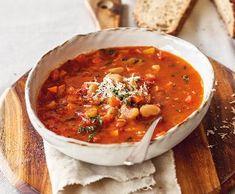 Fall Dinner Recipes, Fall Recipes, Soup Recipes, Vegetarian Recipes, Healthy Recipes, Canned Meat, No Salt Recipes, Soups And Stews, Good Food