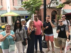 6/4/17 South Beach Lunch. Ending the tour with something sweet at Milani's.