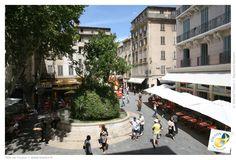 La place Puget, Toulon, Côte d'Azur, Var Saint Tropez, Provence, Port Grimaud, Saint Maximin, Saint Etienne, Roman Soldiers, South Of France, Puget, Street View