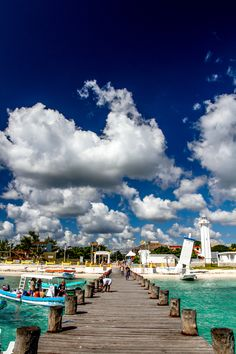 Puerto Morelos, Mexico.   We spent a few weeks in this sweet little village over xmas/new years in 2002/2003