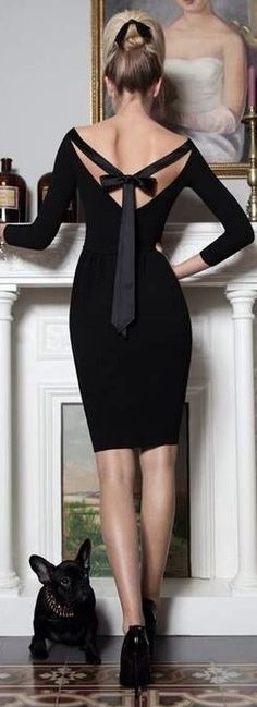 Very classy and understated, but HOTT!  Great Holiday Party look