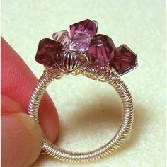 Instant Download TUTORIAL Jewelry Wire Ring  por JewelryonPicadilly
