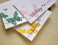 Simply Stamped: Introducing EnclosedStamps: Beautiful Butterflies, Beautiful Butterflies Layers and Swoosh Ink: Harvest Gold, Sweet Blush, Ocean Tides and True Black Cardstock: White Linen Cardstock