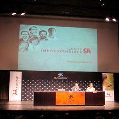 Un Caixaforum lleno para presenciar la séptima conferencia de Gente Imprescindible de Mediapost