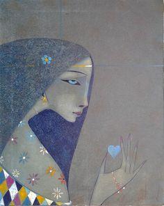 Peter Mitchev「Blue Heart」