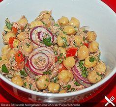 Thunfisch - Kichererbsen - Salat