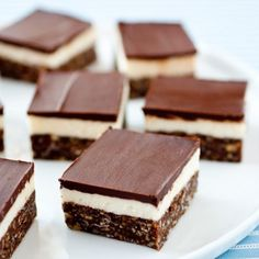 3-Layer No Bake Dream Bars - a fantastic dessert bar recipe with three glorious layers