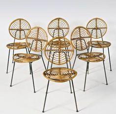 ✔️ Unique Rattan Chair Design Ideas On A Budget Antique Chairs, Vintage Chairs, Vintage Furniture, Rattan Furniture, Cool Furniture, Furniture Design, Furniture Buyers, Furniture Catalog, Furniture Stores