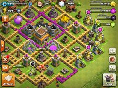 14 Best Th7 Farming Base 2019 Anti Everything Cash Of Clan Bases