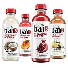 Bai Rainforest Variety Pack, 5 Calories, No Artificial Sweeteners, Sugar, Antioxidant Infused Beverage - Products Online No Carb Food List, Thing 1, Diet Plan Menu, Military Diet, Day Plan, Detox Drinks, Healthy Drinks, Healthy Food, Menu Planning