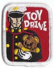 Girl Boy Cub TOY DRIVE SOLDIER Fund Patches Crests Badges SCOUTS GUIDES