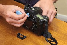 How to clean your camera like a pro: step 2