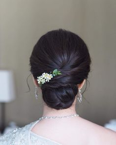 ideas hair styles wedding indian for 2019 Bridal Hair Buns, Bridal Hairdo, Hairdo Wedding, Saree Hairstyles, Indian Wedding Hairstyles, Hairstyles Haircuts, Office Hairstyles, Anime Hairstyles, Stylish Hairstyles