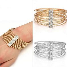 cool  Fashion Crystal Metal Bracelet Gold Vintage Bangle Wristband Cuff - For Sale View more at http://shipperscentral.com/wp/product/fashion-crystal-metal-bracelet-gold-vintage-bangle-wristband-cuff-for-sale/