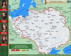 Jagiellonian Polish-Lituania Empire. Central Europe free state.